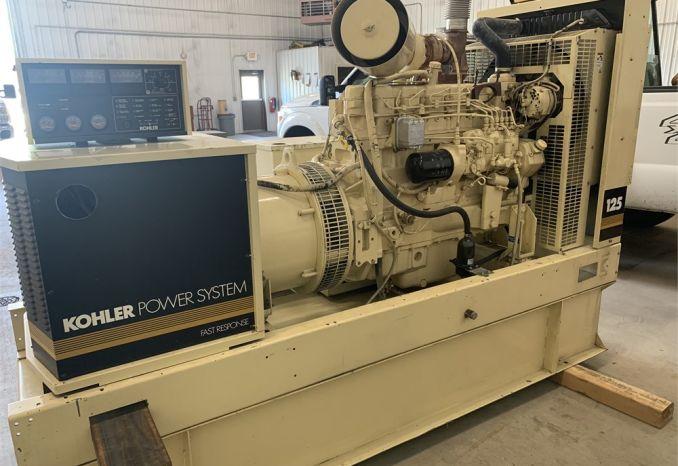 125KW Kohler Generator 3 Phase