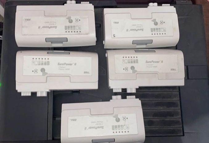 Lot of 5 Zoll X Series Propaq M/MD SurePower II Cardiac Monitor B