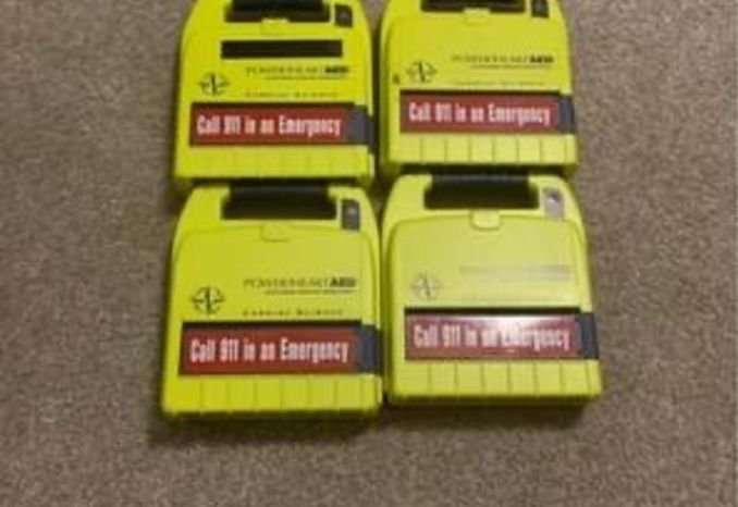 Lot of 4 Cardiac Science G3 AED's
