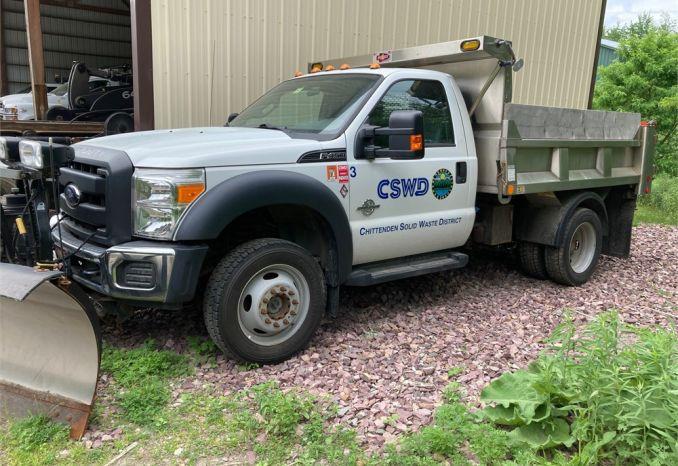 2012 Ford F450 Super Duty XL Plow/Dump Truck