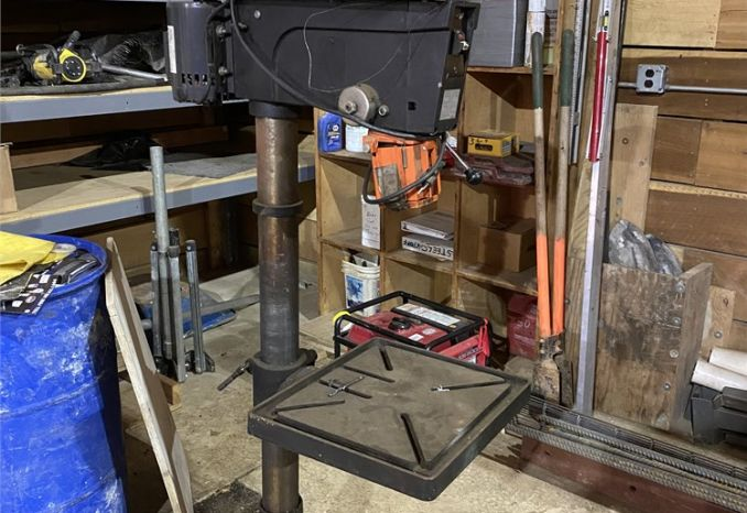 Dayton Floor Drill Press