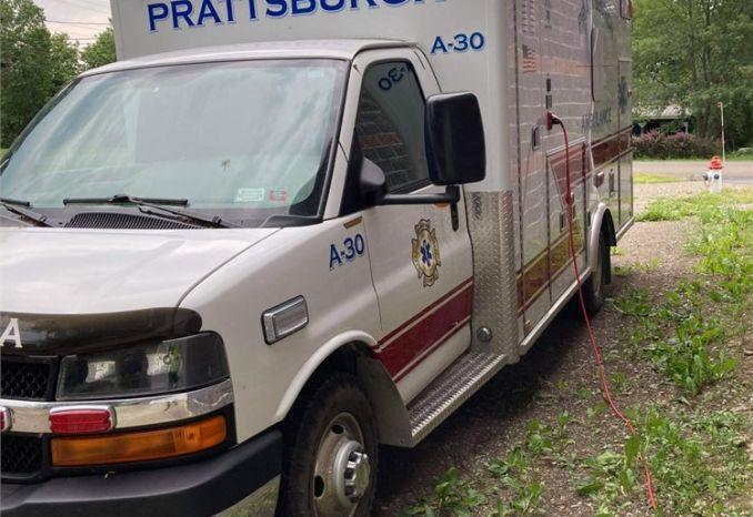 2011 Chevy EXP Ambulance