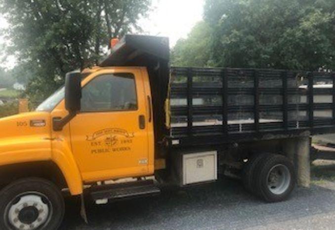 2009 GMC TC4500 Dump Truck