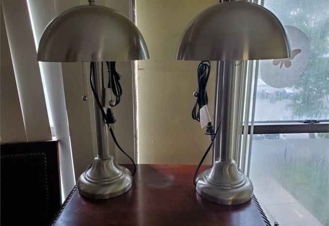 Pair of Contemporary Desk Lamps