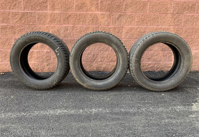 3 Goodyear Eagle Ultra Grip Tires P235/55R17