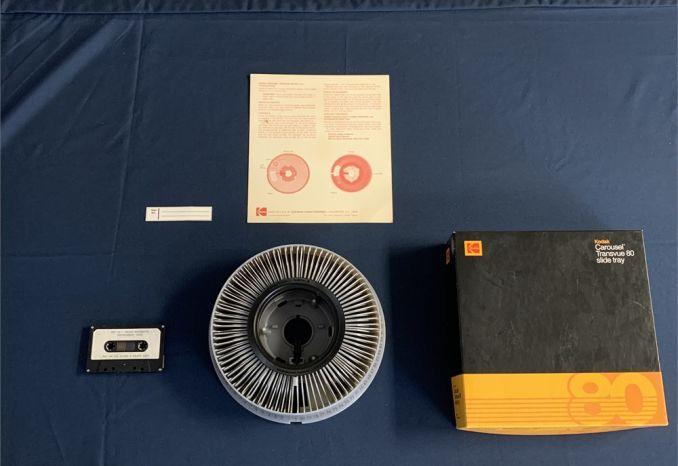 Kodak Carousel Transvue 80 + Child Restraint Training Slides/Tape