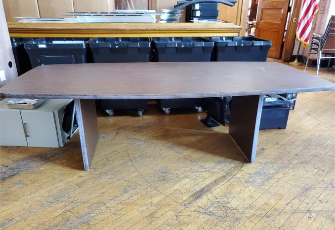 Wood-Inspired, Large Utilitarian Table