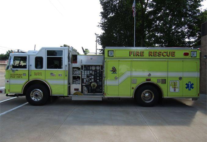 1999 Pierce Saber Chassis Heavy Duty Rescue Pumper