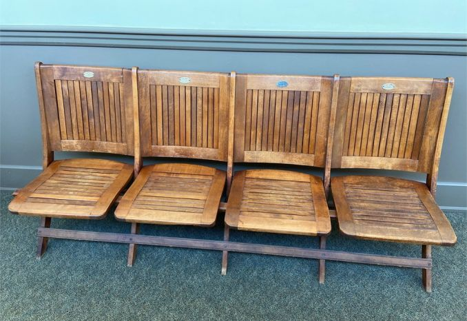 WOODEN FOLDABLE BENCHES