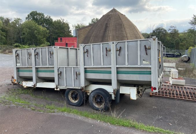 1992 Eager Beaver Recycling Trailer