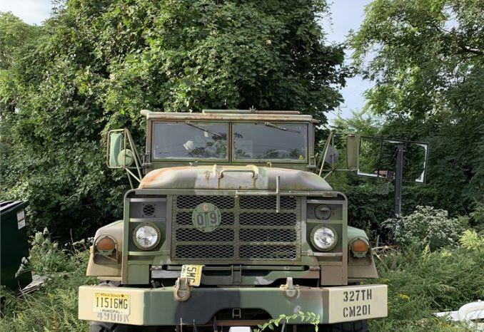 1990 BMY M92 Military Truck S/N 2301145