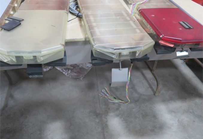 Used Light Bars w/ Control Boxes and 2 Gun Electronic Release