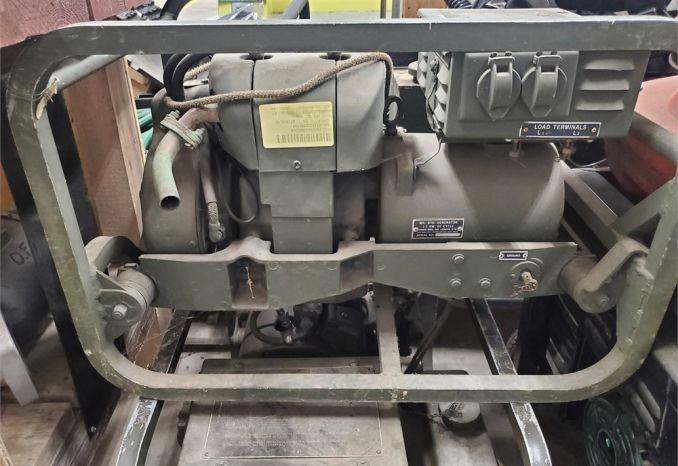 2 Old Military Generators