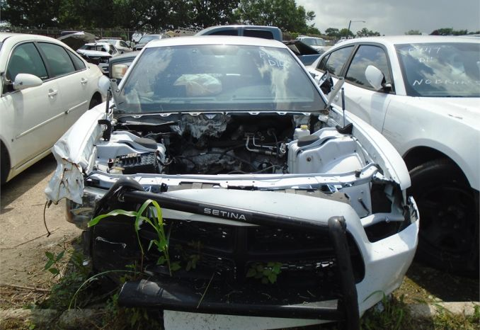 2012 DODGE CHARGER, WRECKED, NO ENGINE, NO KEY