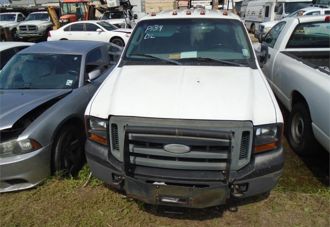 2007 FORD F250 SERVICE TRUCK, DOES NOT RUN, NO KEY