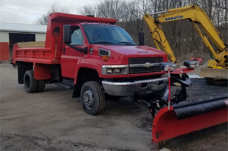 2007 Chevy 5500 4x4 Online Government Auctions of Government