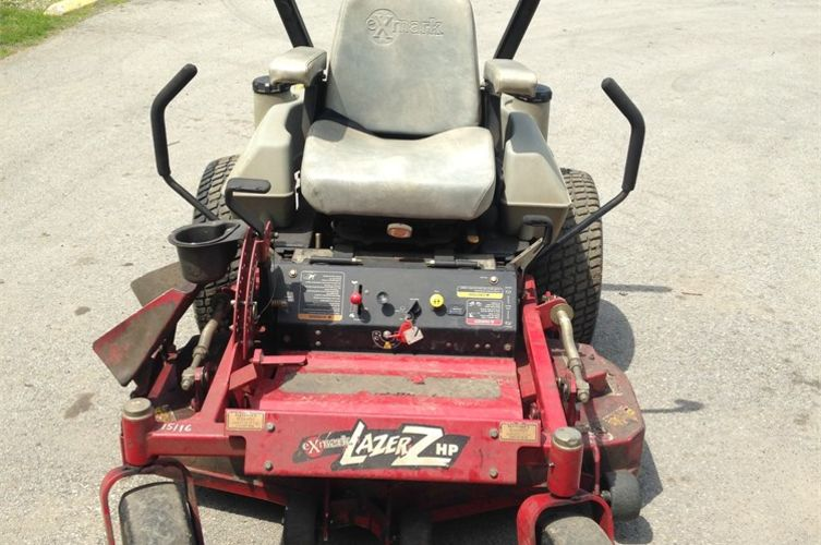 Exmark Lazer Z HP zero turn mower Online Government Auctions of
