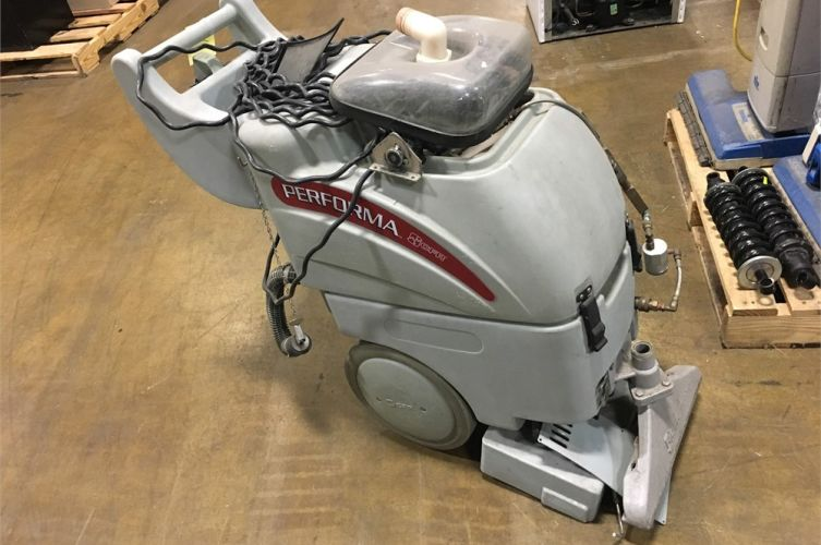 Performa Carpet Extractor Online Government Auctions of Government