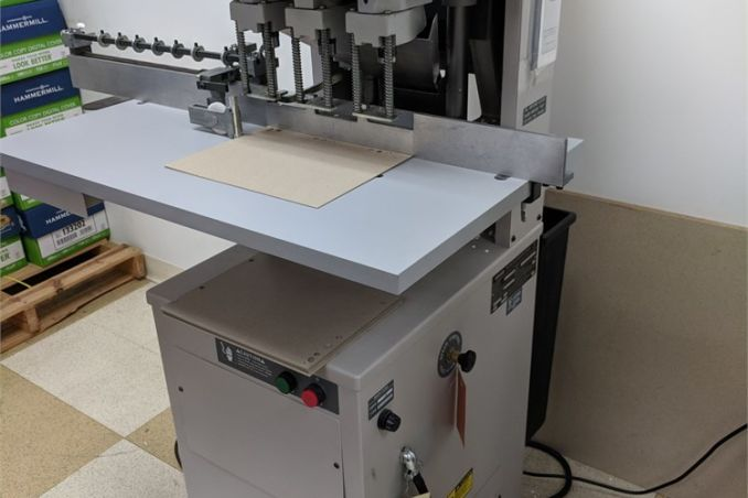 Challenge EH-3C Paper Drill