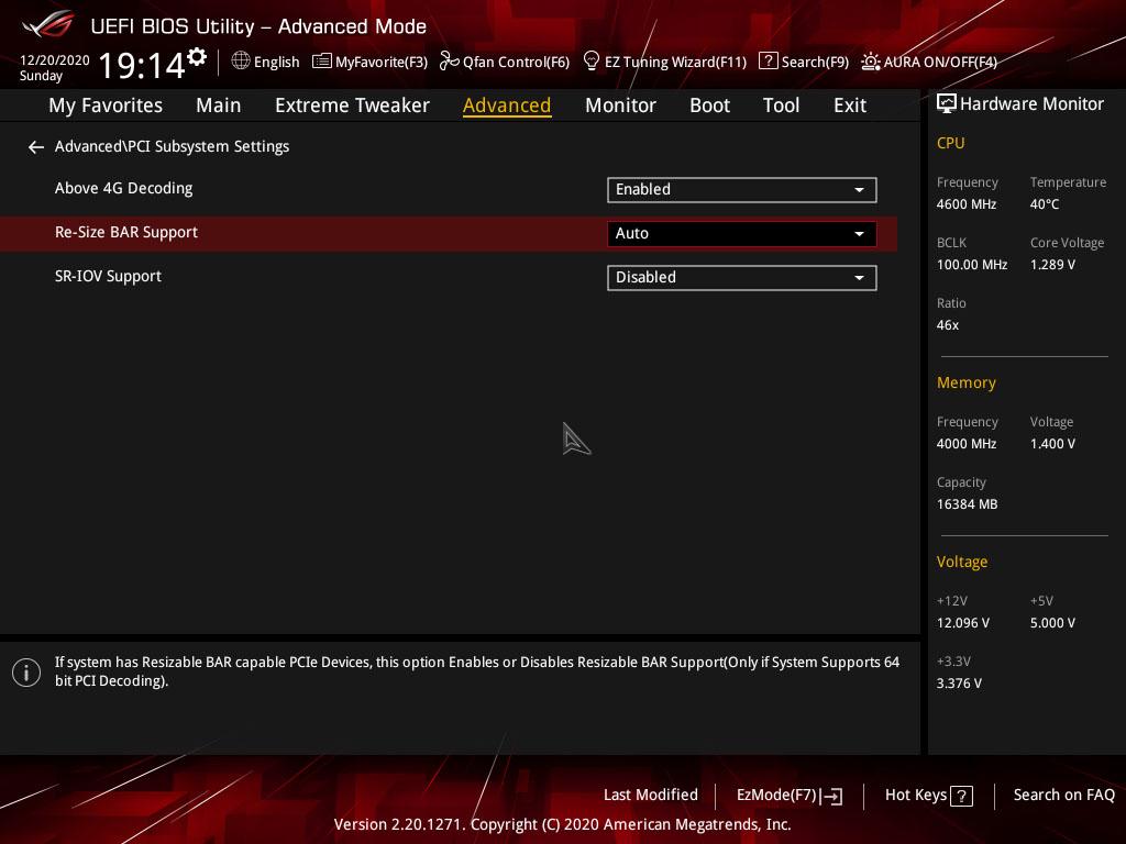 Cara Mengaktifkan AMD Smart Acces Memory