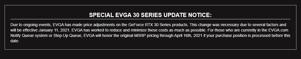 Harga VGA RTX 30 Series