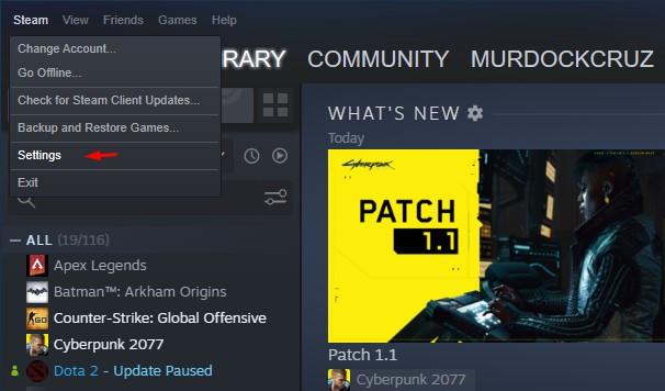 Cara Memindahkan Game Steam