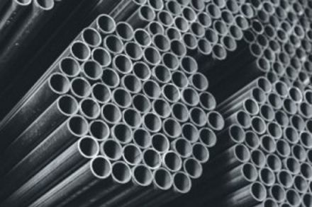Picture of Black Round Pipes