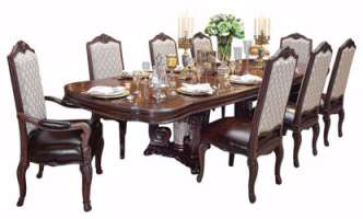 Picture of Solid Wood 4 Seater Dining Set
