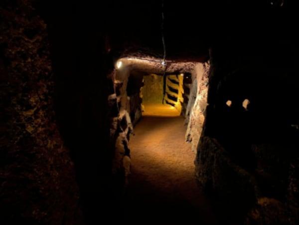 catacomba di santa savinilla
