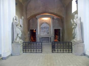 entrata catacomba di santa savinilla
