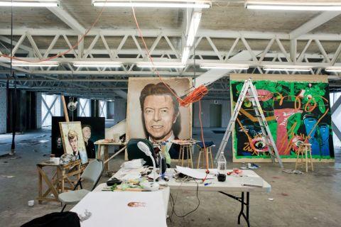En el estudio de Javier Pulido
