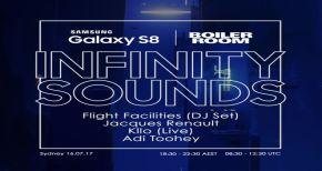 Image of BOILER ROOM Flight Facilities Samsung Galaxy S8 x Boiler Room Sydney DJ Set