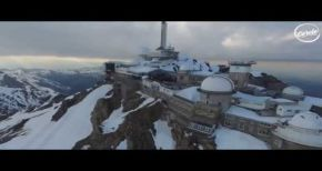 Image of Fakear live @ Pic du Midi for Cercle