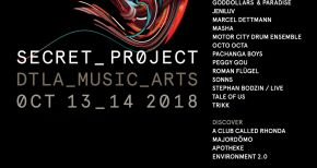 Image of Secret Project LA Announces 2018 Lineup for Oct 13-14th Festival