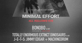 Image of Minimal Effort Drops All Hallow's Eve 5th Anniversary Lineup