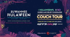 Image of Suwannee Hulaween 2017 Sells Out - Couch Tour w/ Proceeds Going to Hurricane Relief Fund in Full Effect