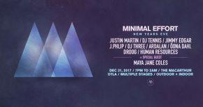 Image of Minimal Effort NYE Announces Special Guest Maya Jane Coles