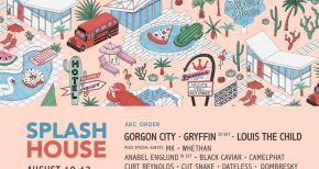 Image of Splash House Lineup For August Is Release And It Is Too Stacked