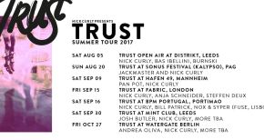 Image of TRUST ANNOUNCE SUMMER TOUR DATES 2017