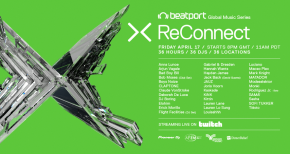 Image of Beatport Presents: ReConnect Part 2, A Global Music Event For COVID-19 Relief - 36 Hour Non-Stop Stream