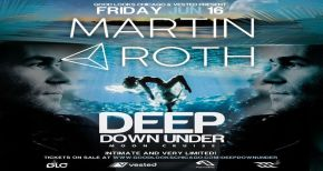 Image of TICKET GIVEAWAY : Martin Roth - Deep Down Under Night Cruise