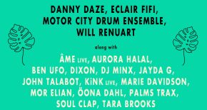 Image of Motor City Drum Ensemble, Danny Daze, Eclair Fifi Announced on Rakastella  Phase 4 Lineup