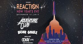 Image of Reaction NYE 2017 Ticket Giveaway