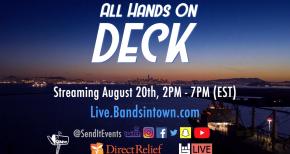 Image of Send It Events - All Hands On Deck! @ USS Hornet - Teaser