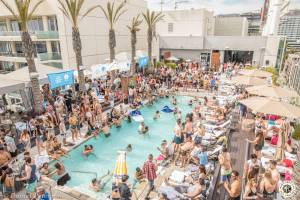 Image of Corona Electric Beach - Los Angeles - The W Hollywood - Round 1