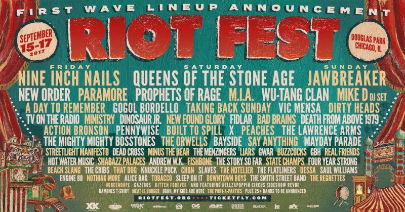 Riot Fest 2017 - Chicago