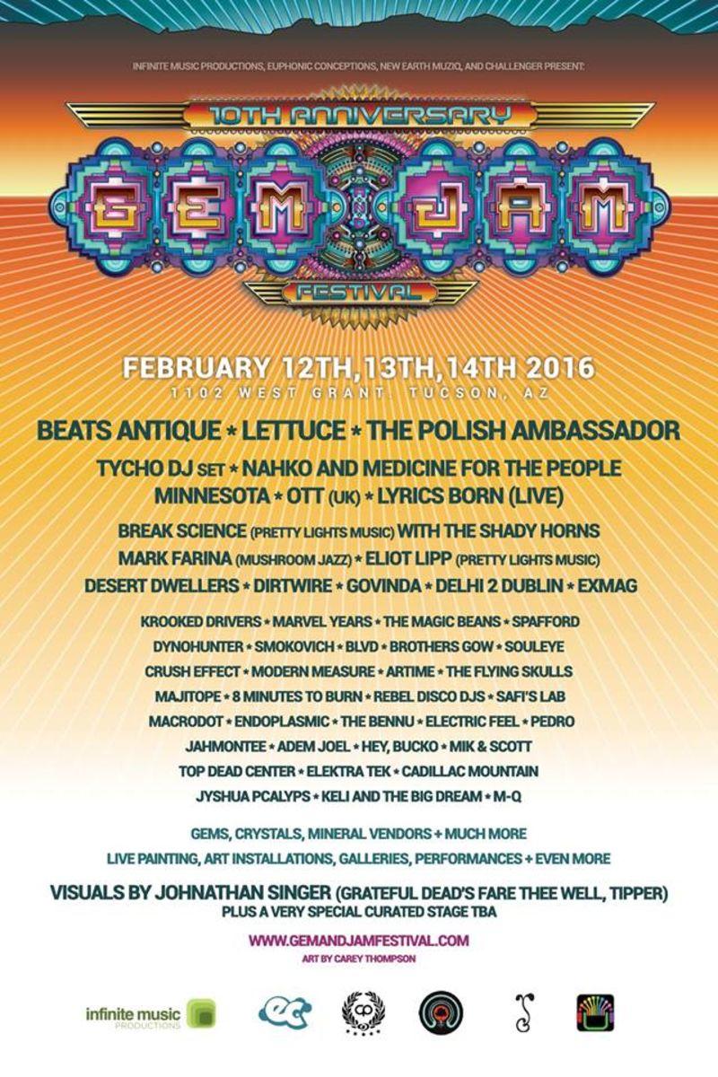 Gem & Jam Festival 2016