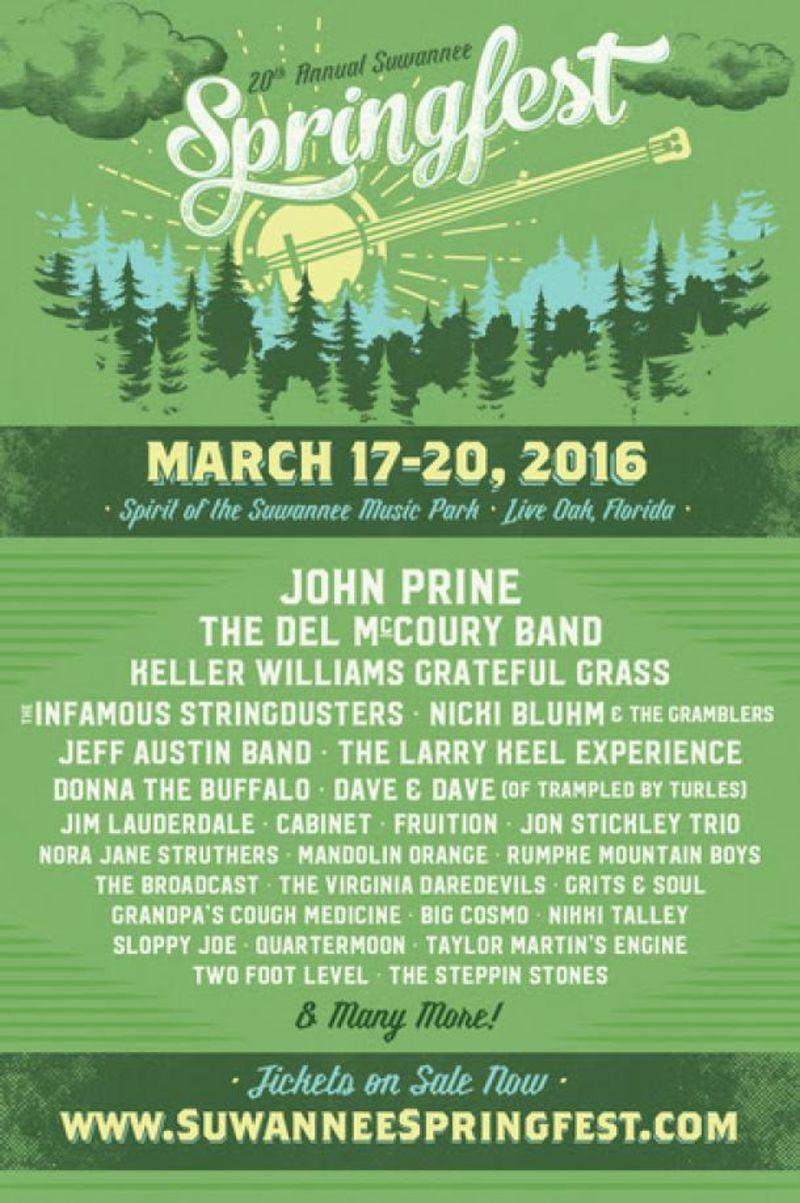 Suwannee Springfest 2016
