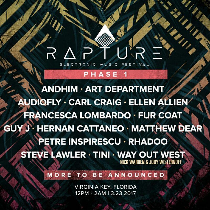 Rapture Festival 2017