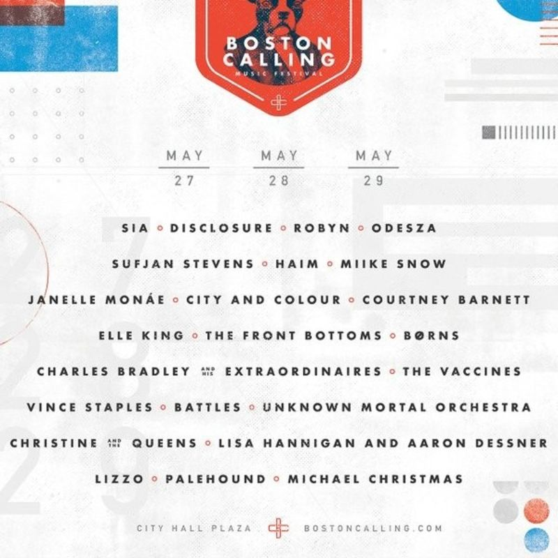Boston Calling 2016